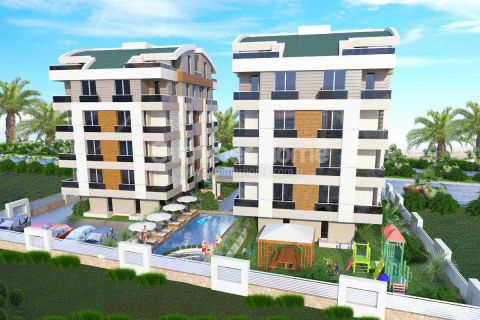 Brand New Property in a Famous Area in Antalya