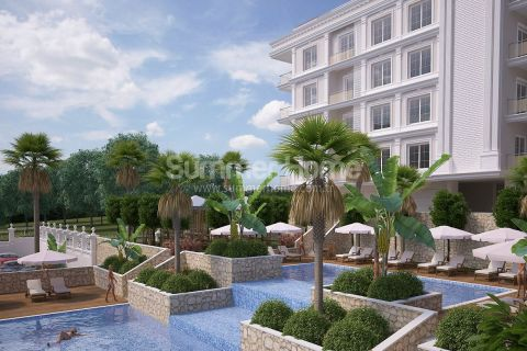 New Luxury Property Surrounded by Green Nature in Kepez, Antalya