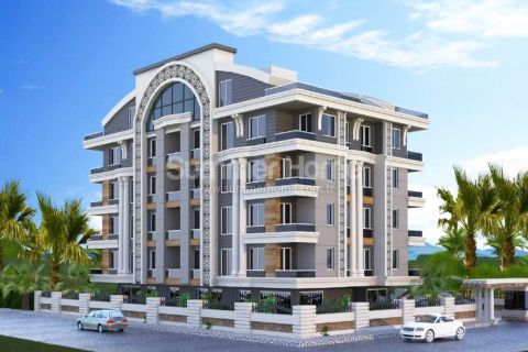 Apartments in Cozy Complex Close to the Beach in Konyaalti, Antalya