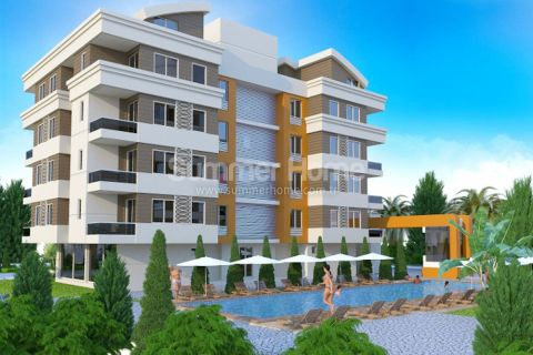 Excellent Apartments in Beautiful Developing Area in Hurma, Antalya