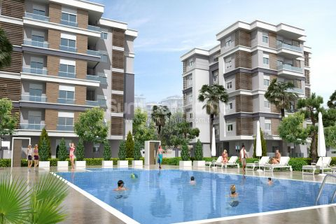 Newly Built Stylish Apartments in Calm Area in Antalya