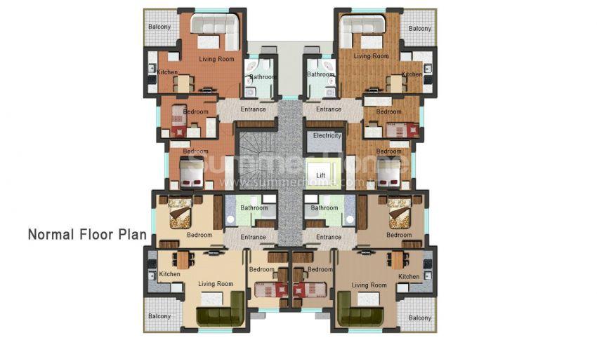 安塔利亚开发区的新公寓 plan - 2