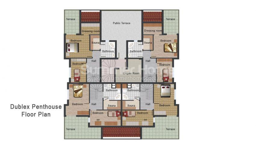 安塔利亚开发区的新公寓 plan - 4