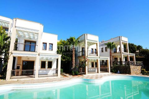 Sea View Property with Detached Duplex Villas in Bodrum