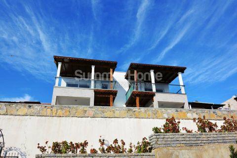Fantastická vila s výhľadom na more v dobrej lokalite v Bodrume