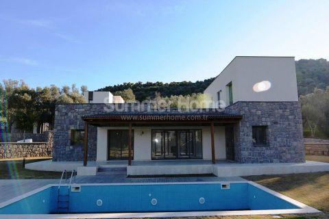 Vakker villa med naturstein og privat basseng i Bodrum