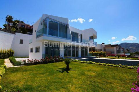 Hypermoderne villa i praktfulle omgivelser i Bodrum