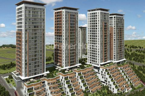 Eksklusive leiligheter nær alle fasiliteter i Istanbul