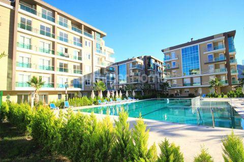 Nykyaikaisia Asuntoja Luonnonkauniissa Ympäristössä Antalyan Hurmassa