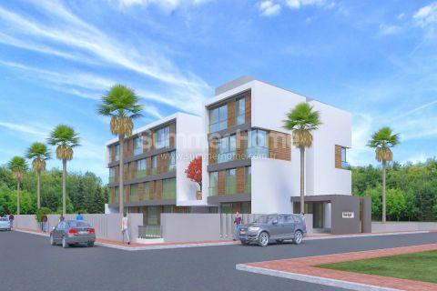 Aantrekkelijke appartementen op een prachtige locatie in Konyaalti, Antalya