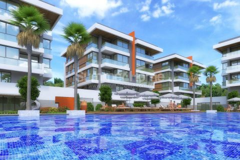 Luxury Property with Spacious Apartments in Popular Area in Antalya