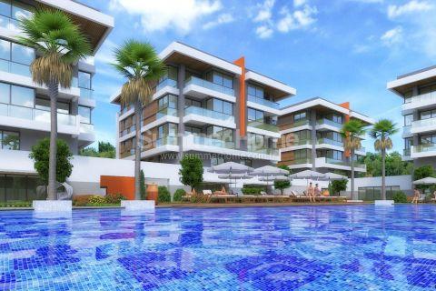 Luxurious Apartments in Beautiful Nature of Konyaalti, Antalya