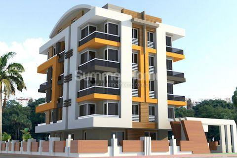 Nydelige leiligheter i et område i rask utvikling i Antalya