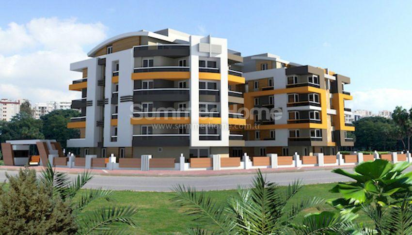 安塔利亚里曼的现代公寓,位于平静的绿色地带 general - 1