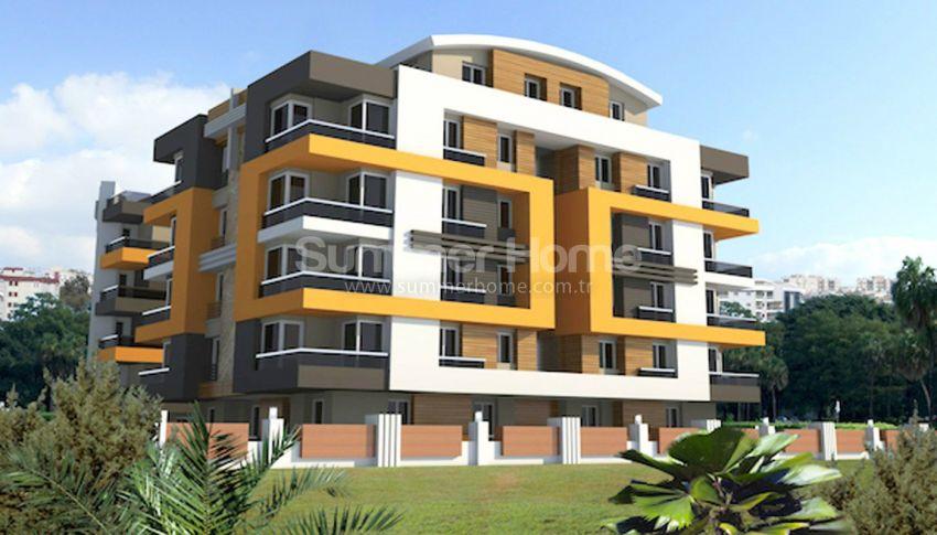 安塔利亚里曼的现代公寓,位于平静的绿色地带 general - 2