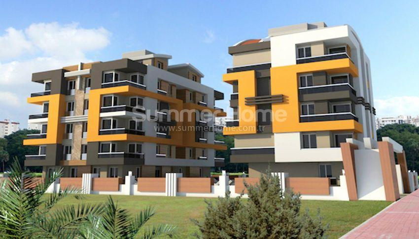 安塔利亚里曼的现代公寓,位于平静的绿色地带 general - 4