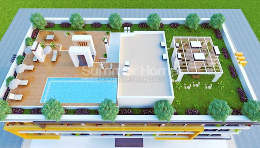 安塔利亚热门地段的现代公寓 general - 2