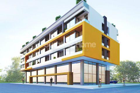 Moderne leiligheter i et populært distrikt i Antalya