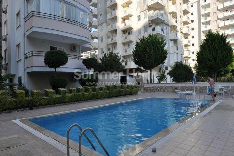 Voll möblierte Wohnung zum Verkauf in toller Lage in Mahmutlar, Alanya
