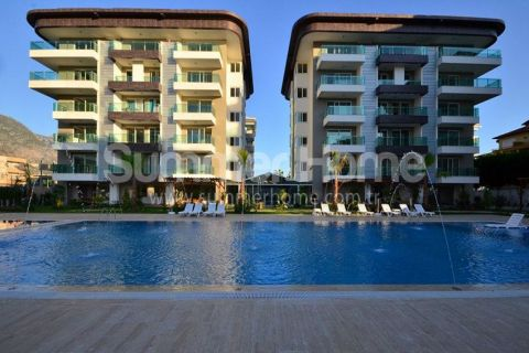 Modern Beachfront Apartments in Perfect Location in Kestel, Alanya