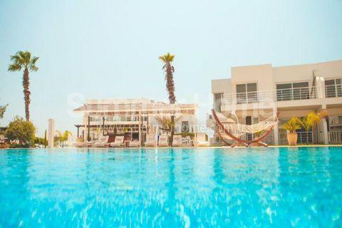 Moderný rezidenčný komplex priamo na pláže na Severnom Cypre