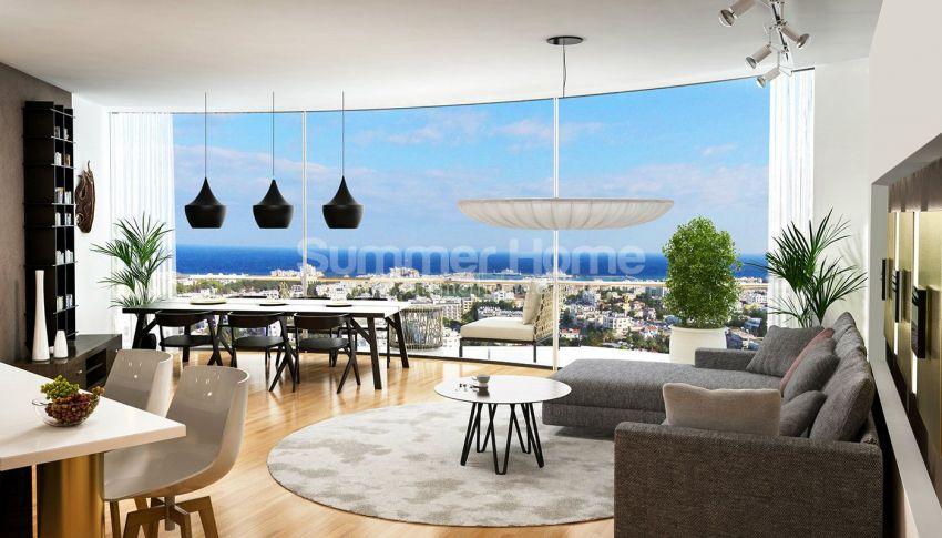 塞浦路斯凯里尼亚的舒适豪华公寓 interior - 14