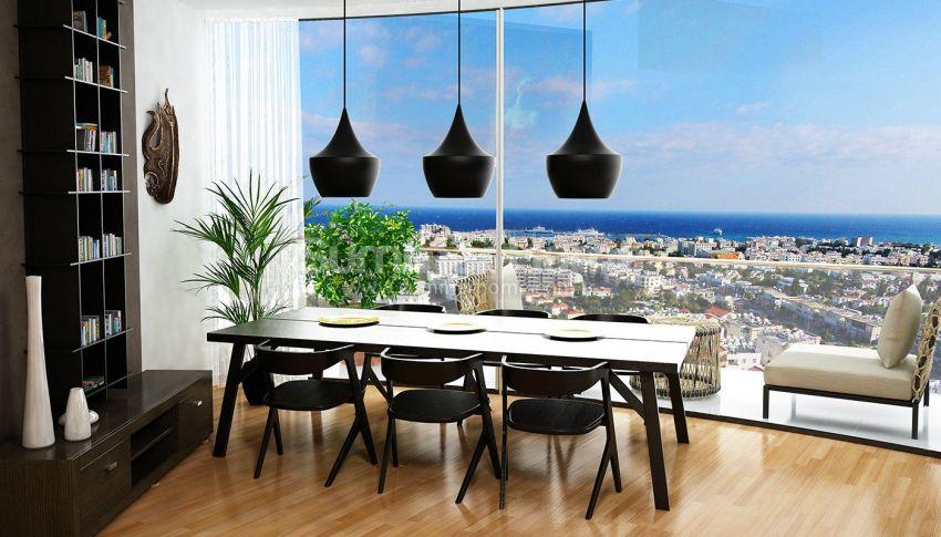 塞浦路斯凯里尼亚的舒适豪华公寓 interior - 16