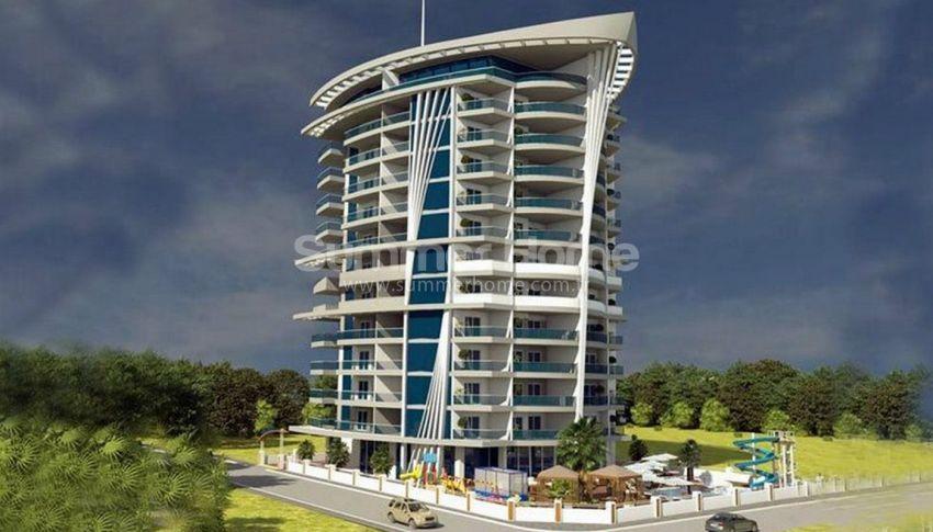 阿拉尼亚马赫穆特拉尔(Mahmutlar)海滨独立住宅区内的现代公寓 general - 1