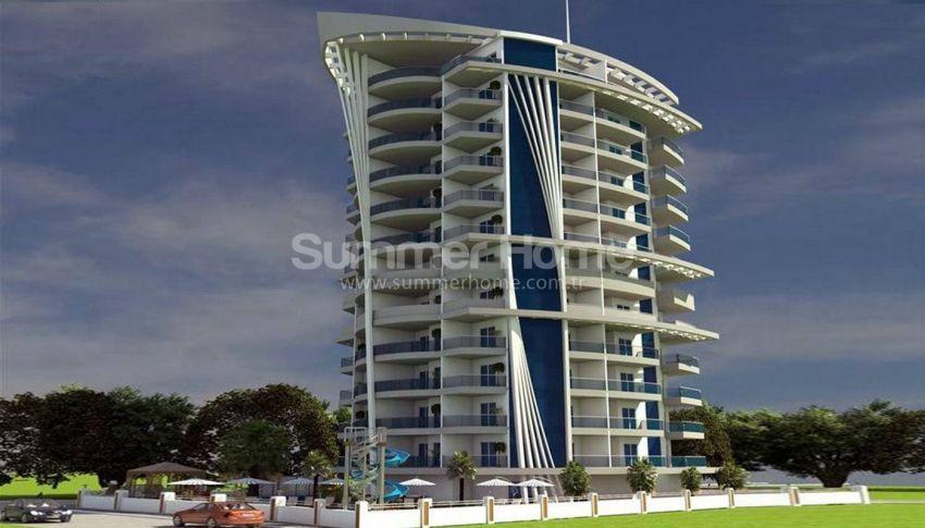 阿拉尼亚马赫穆特拉尔(Mahmutlar)海滨独立住宅区内的现代公寓 general - 2