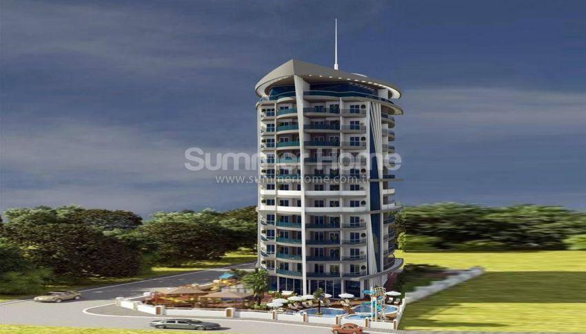 阿拉尼亚马赫穆特拉尔(Mahmutlar)海滨独立住宅区内的现代公寓 general - 3
