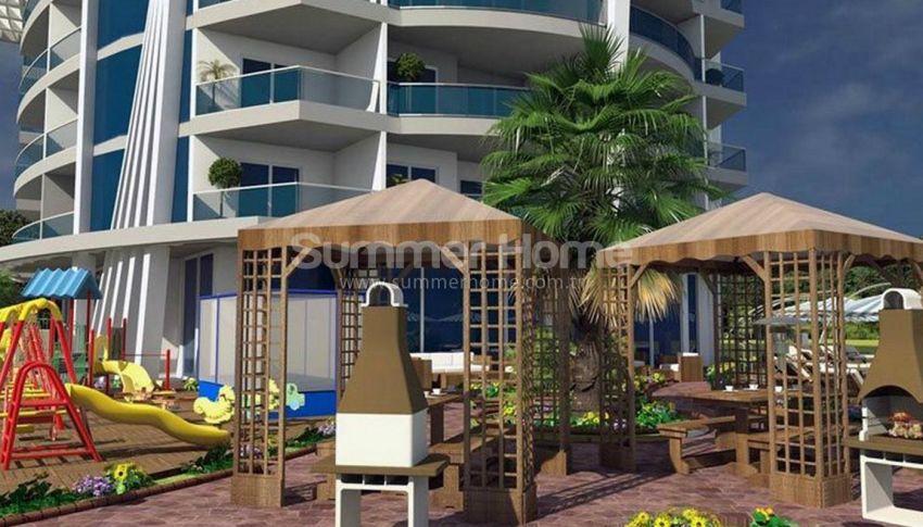 阿拉尼亚马赫穆特拉尔(Mahmutlar)海滨独立住宅区内的现代公寓 general - 4