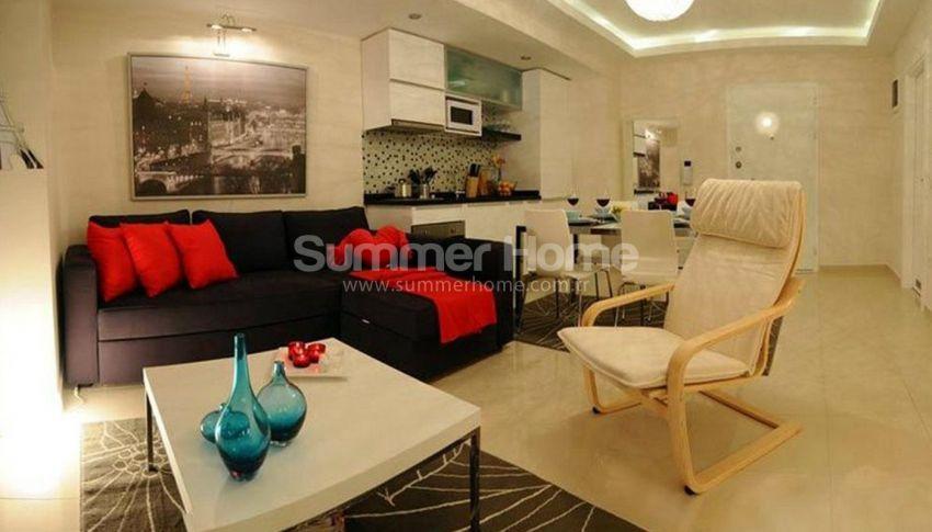 阿拉尼亚马赫穆特拉尔(Mahmutlar)海滨独立住宅区内的现代公寓 interior - 6