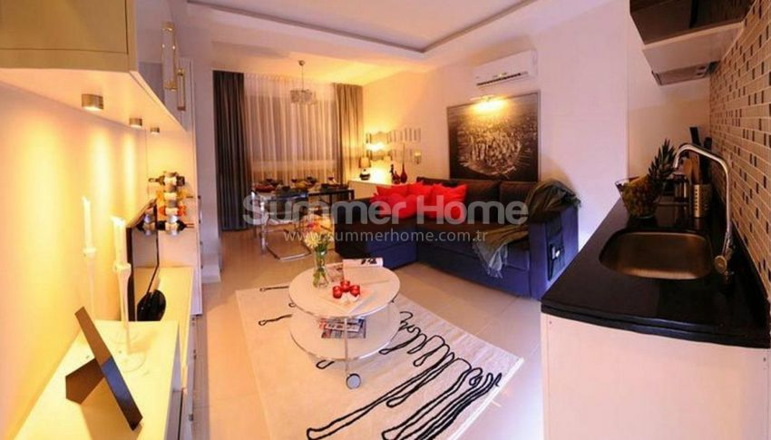 阿拉尼亚马赫穆特拉尔(Mahmutlar)海滨独立住宅区内的现代公寓 interior - 11