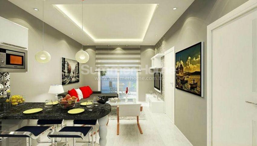 阿拉尼亚马赫穆特拉尔(Mahmutlar)海滨独立住宅区内的现代公寓 interior - 15