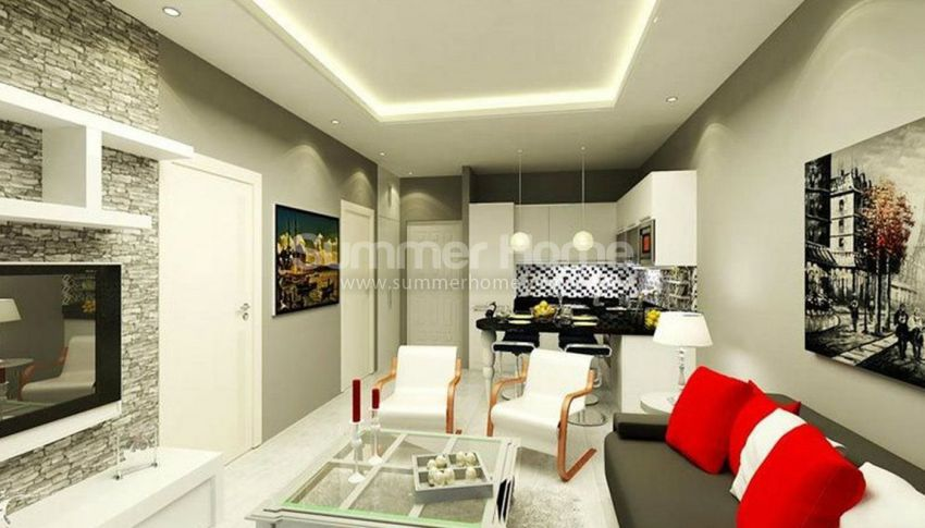 阿拉尼亚马赫穆特拉尔(Mahmutlar)海滨独立住宅区内的现代公寓 interior - 16