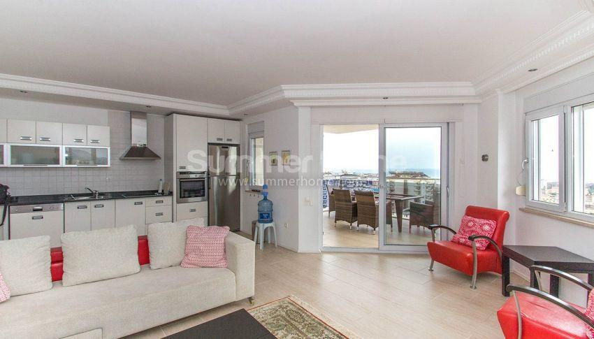 Appartements confortables et abordables dans un quartier populaire de Cikcilli, Alanya interior - 6