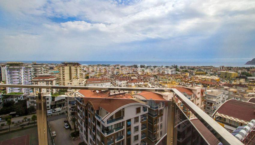 Appartements confortables et abordables dans un quartier populaire de Cikcilli, Alanya interior - 10