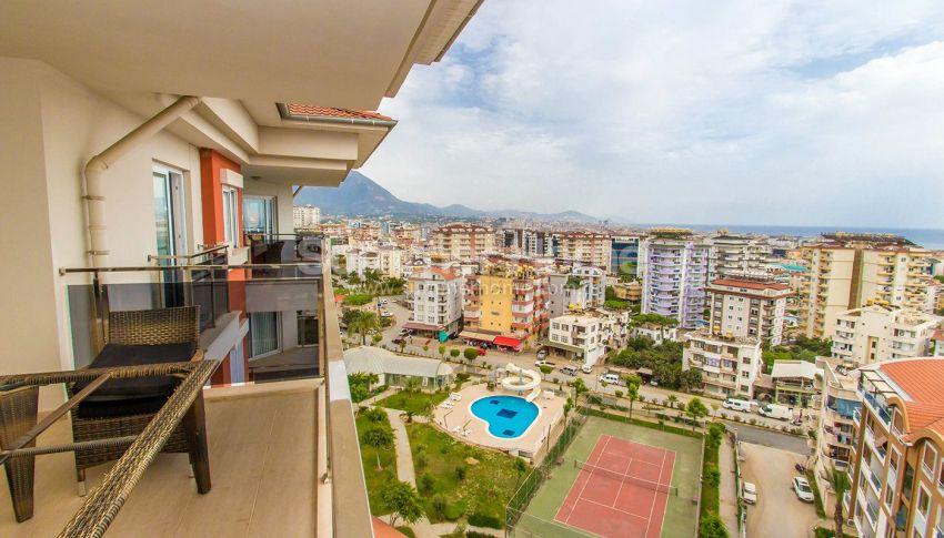 Appartements confortables et abordables dans un quartier populaire de Cikcilli, Alanya interior - 11