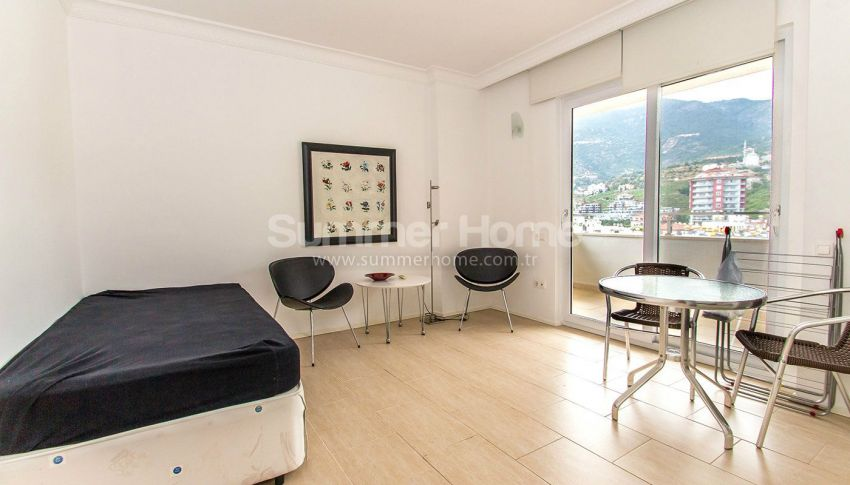 Appartements confortables et abordables dans un quartier populaire de Cikcilli, Alanya interior - 15