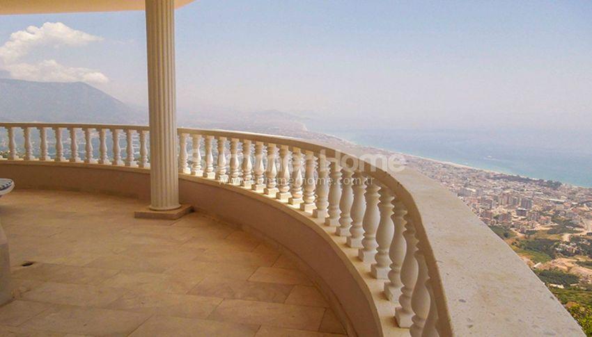 阿拉尼亚贝克塔斯(Bektas)的家具齐全的泳池海景别墅 interior - 10