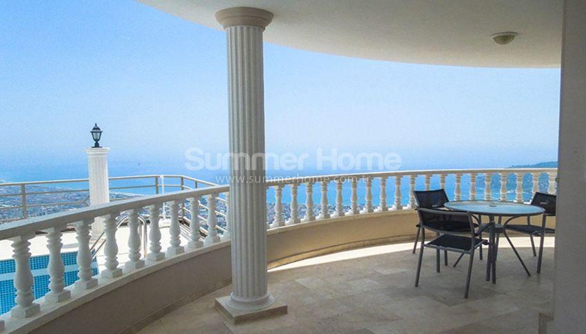 阿拉尼亚贝克塔斯(Bektas)的家具齐全的泳池海景别墅 interior - 17