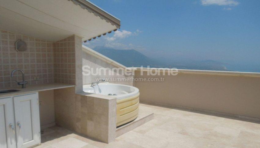 阿拉尼亚贝克塔斯(Bektas)的家具齐全的泳池海景别墅 interior - 21