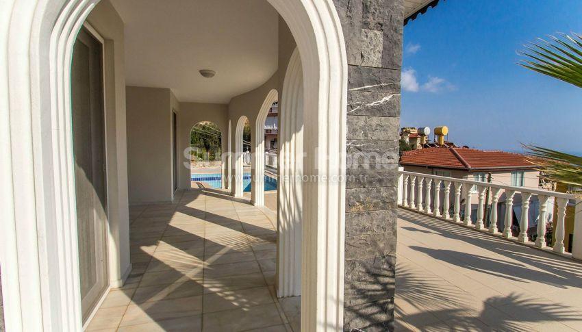 阿拉尼亚特佩(Tepe)山坡的带私人泳池的宽敞别墅 general - 4