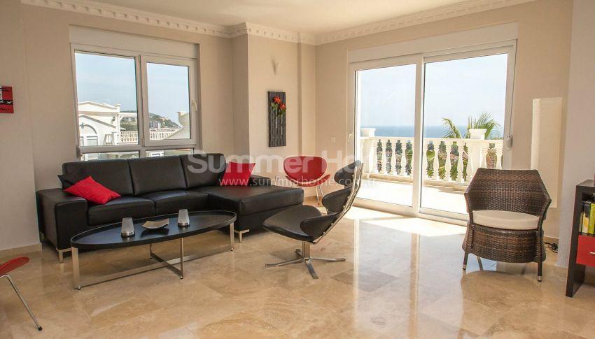 Villas de luxe entièrement meublées dans la zone verte à Konakli, Alanya interior - 8