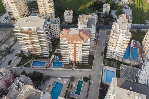 Nové perfektné apartmány za výhodné ceny v Mahmutlare, Alanya