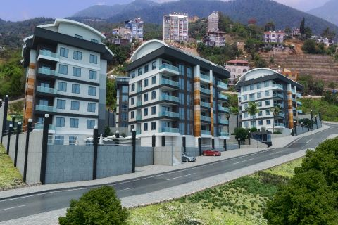 Brand New Luxury Apartments Close to All Major Shopping Centers in Alanya