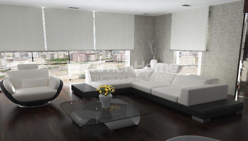 靠近安塔利亚孔亚阿鲁提(Konyaalti)海滩的舒适特色公寓 interior - 9