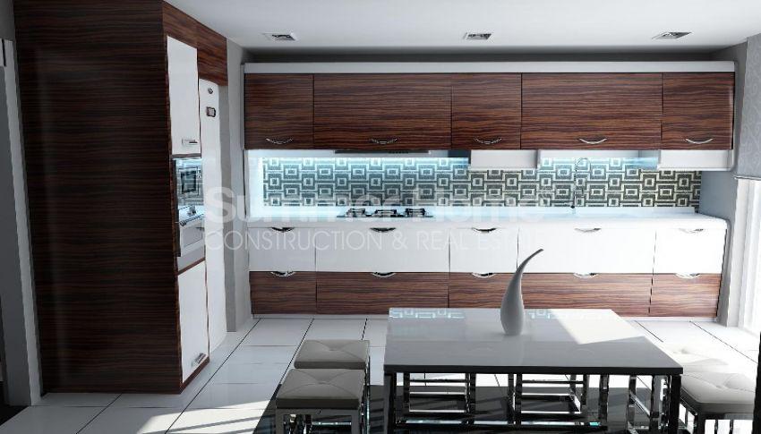 靠近安塔利亚孔亚阿鲁提(Konyaalti)海滩的舒适特色公寓 interior - 10