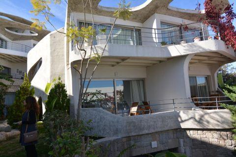 En duplex-leilighet uten sidestykke i det mest eksklusive området i Bodrum, Tyrkia