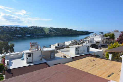 Villa with a Panoramic View of The Aegean Sea in Bodrum